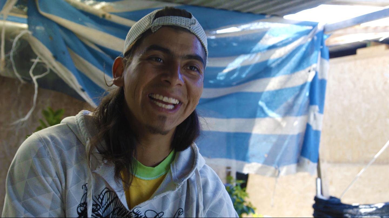 Jorge Rojas, cueilleur d'algues, jeune homme qui cuisine, Los Pozos, Huasco