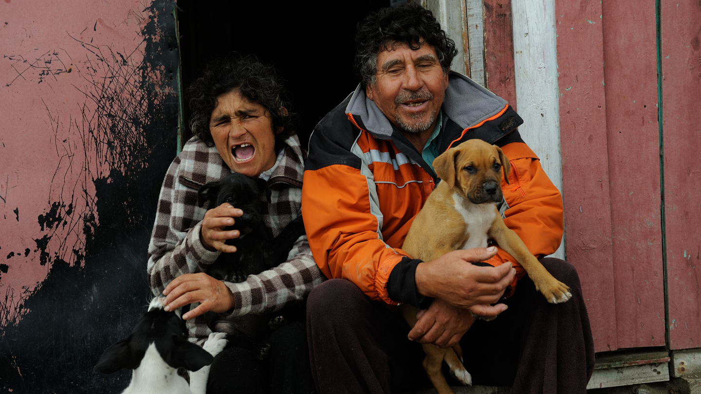 Casiano Ardiles et Lilian Rojas, huireros, Los Pozos, Huasco