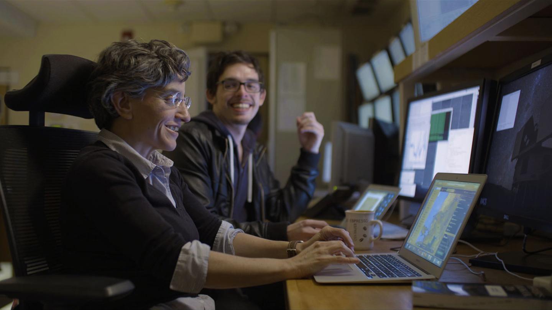 Mercedes López-Morales and Néstor Espinoza, planet hunters, Las Campanas Observatory (LCO)