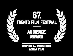 Trento Film Festival 2019 Audience Award